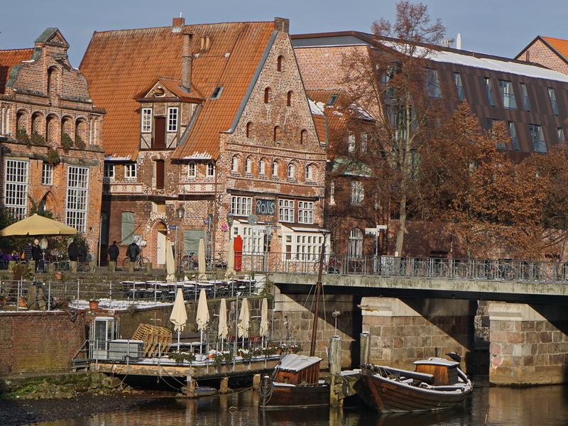 Altstadthäuser an der Ilmenau